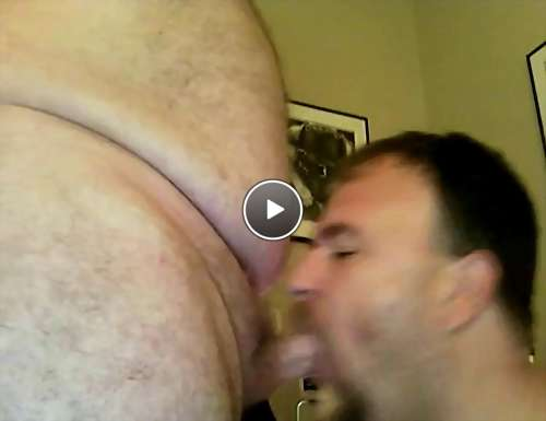 sucking daddy dick video